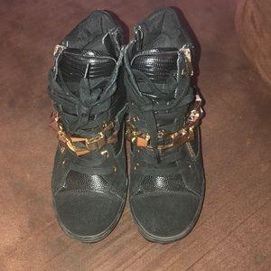 ALDO wedge heel boot